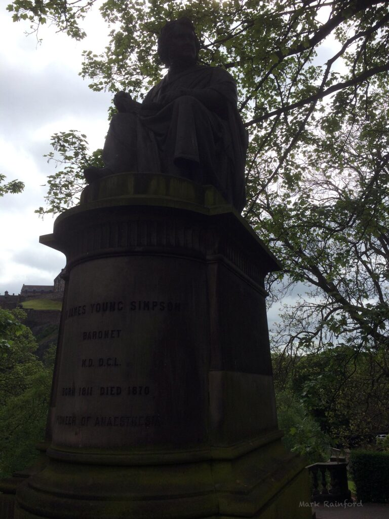 James Young Simpson Statue