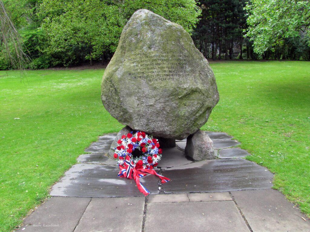 Norwegian Memorial stone