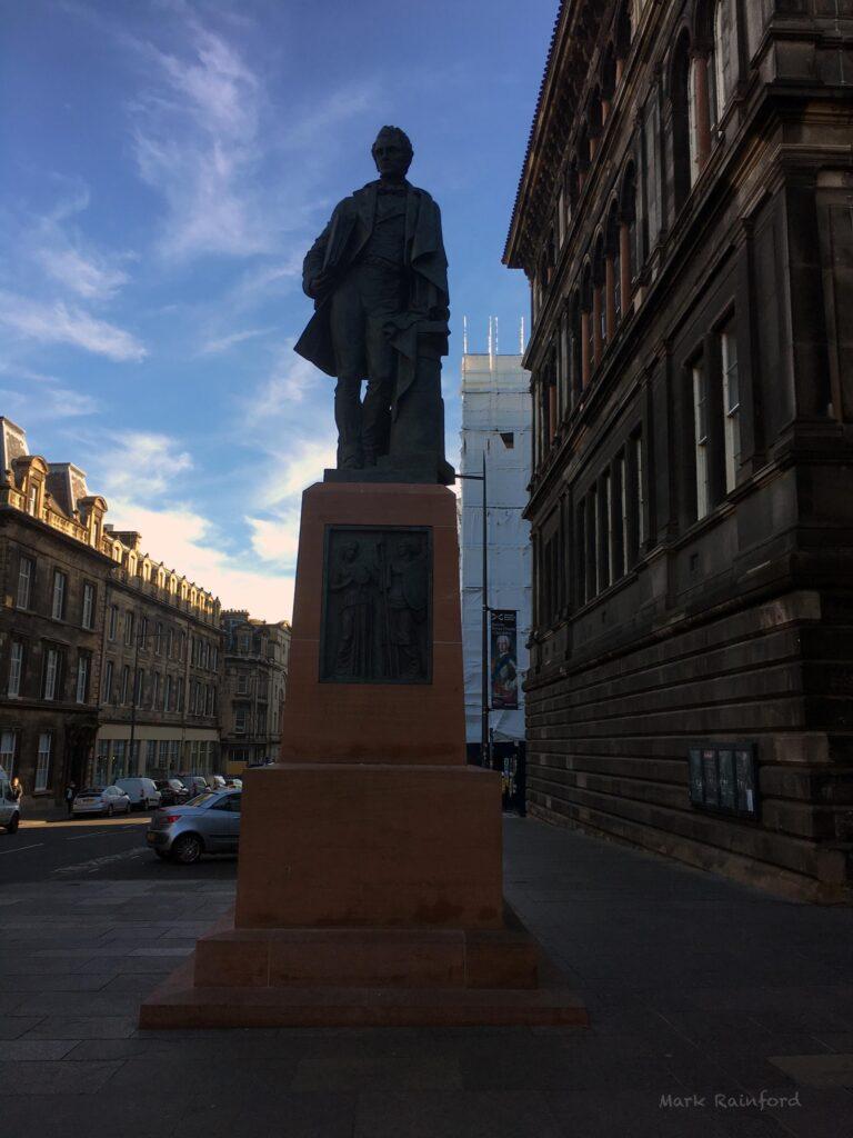 William Henry Playfair Statue